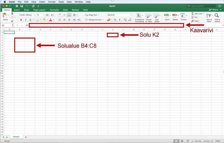 Mac-Excel-2019-ohjekayttis