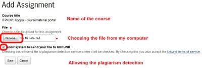 Adding an assignment